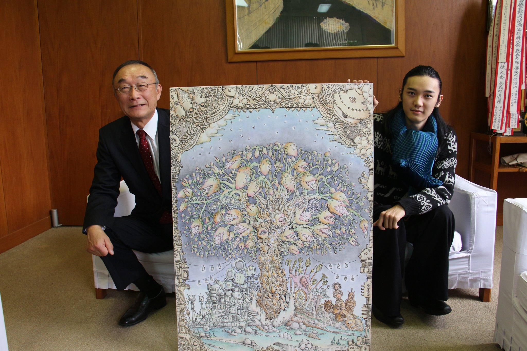 岡山 勝央美術文学館 作品展示のお知らせ